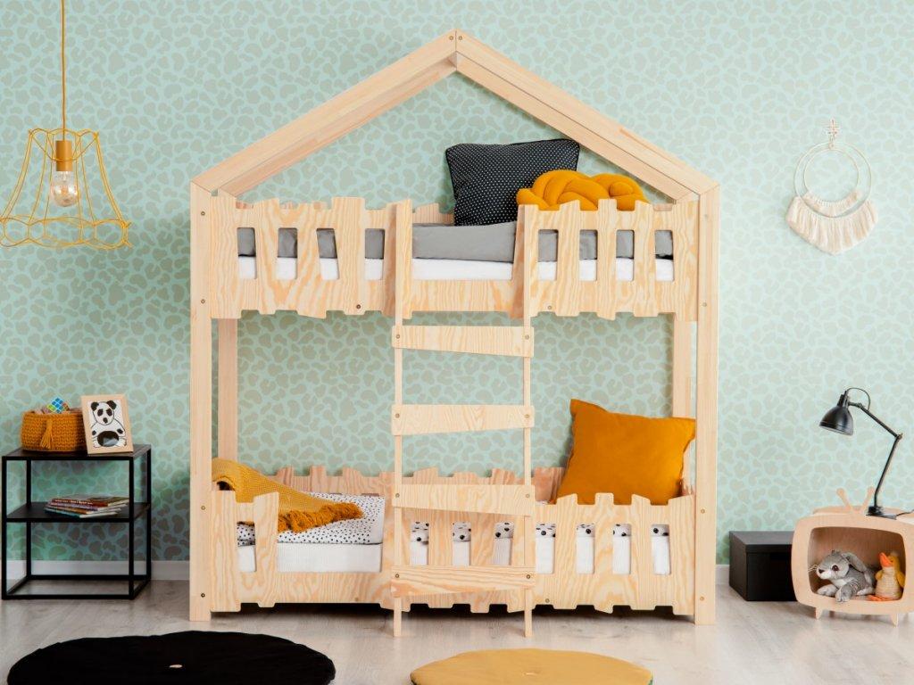 Moderní patrová dětská postel