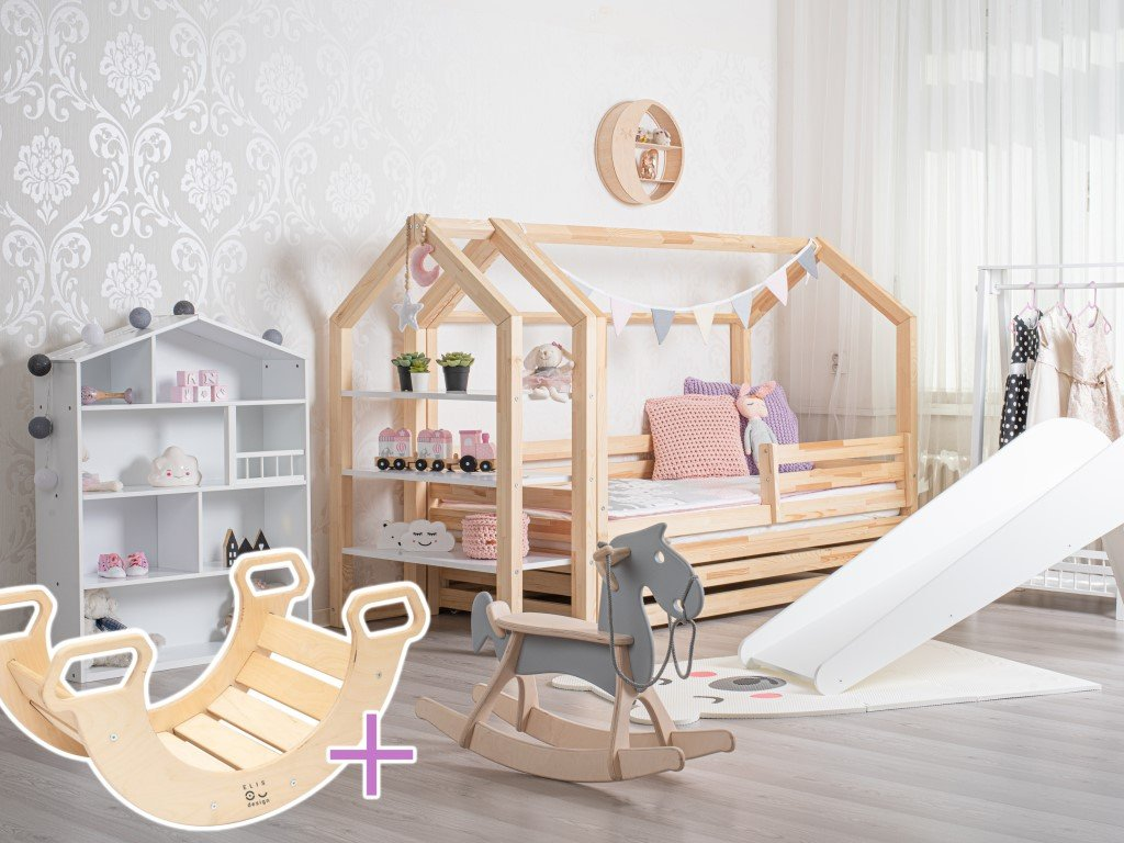 domečková postel premium