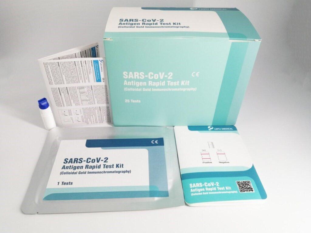 Sada pro rychlé a komfortní samotestování - SARS-CoV-2 antigenní test