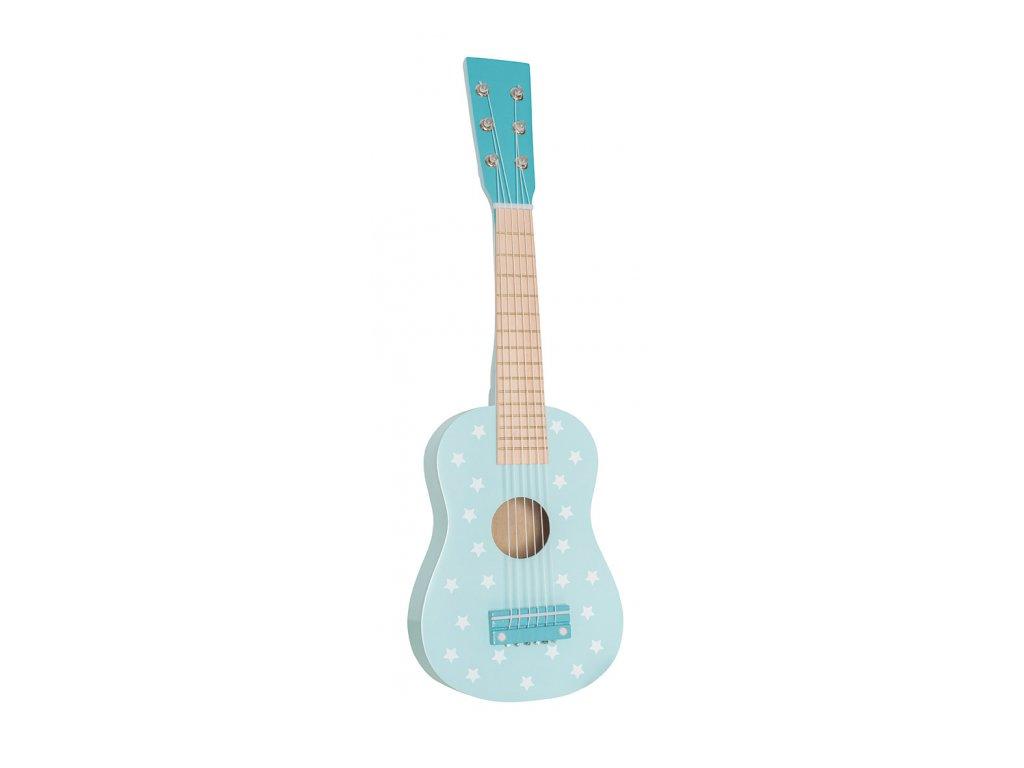 detska kytara modra