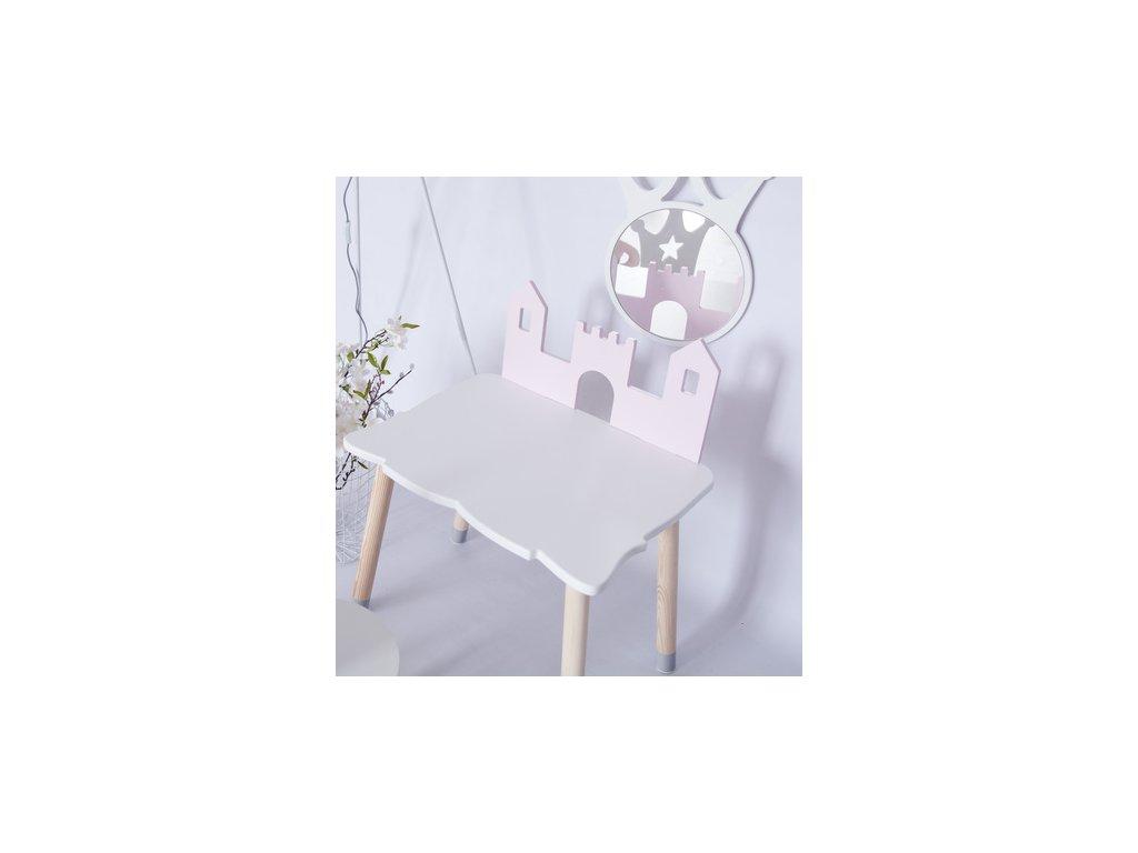 detsky stolek hrad
