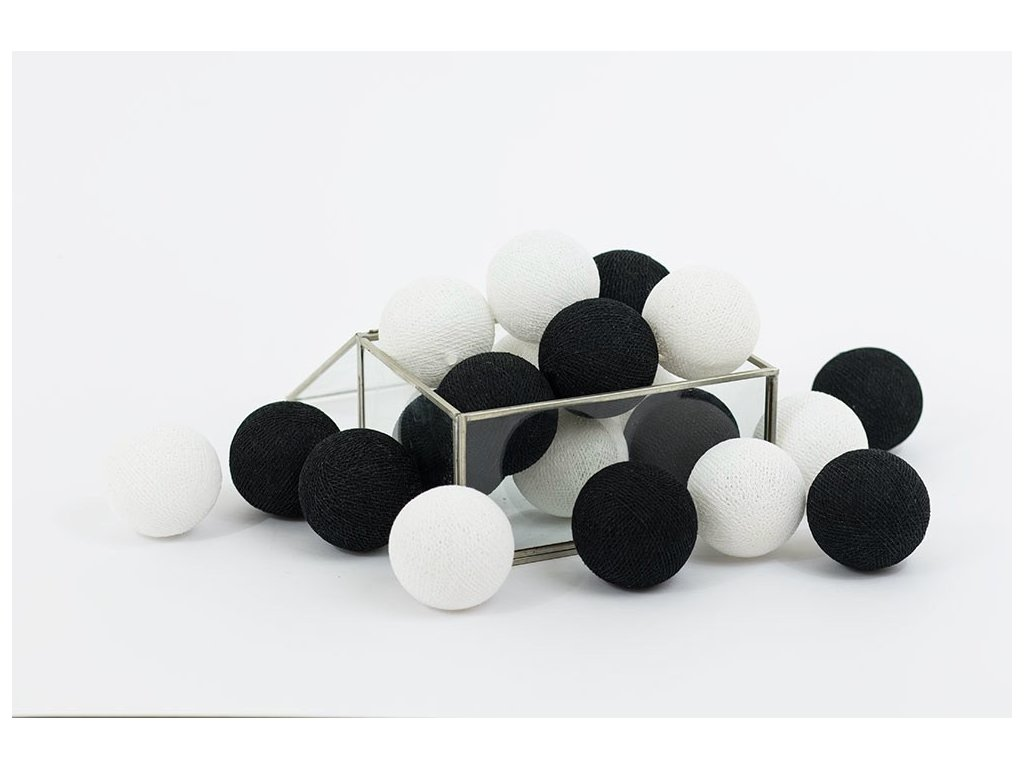 kuličky černo bílé1