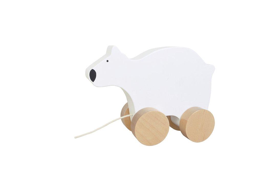 dřevěný lední medvěd