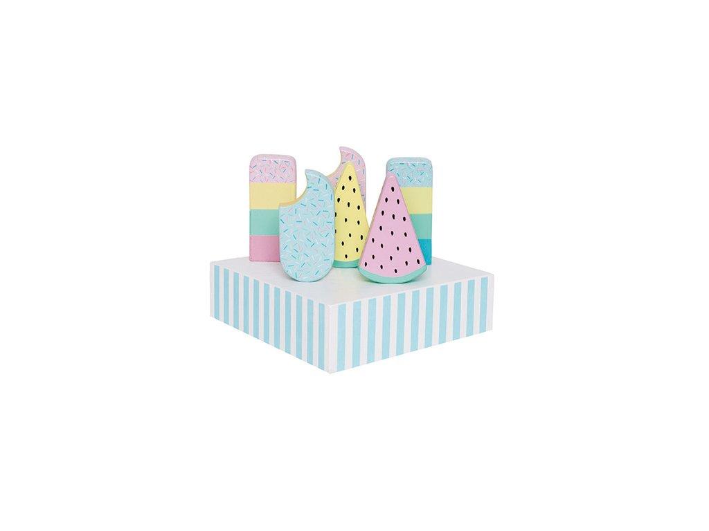 zmrzlina v krabici
