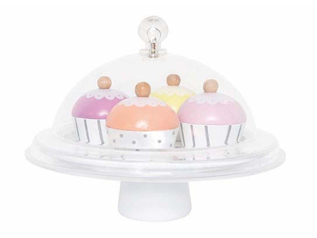 Dětská hračka dřevěné cupcaky