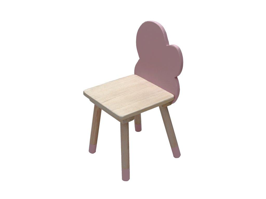 VÝPRODEJ  Dětská židlička mráček