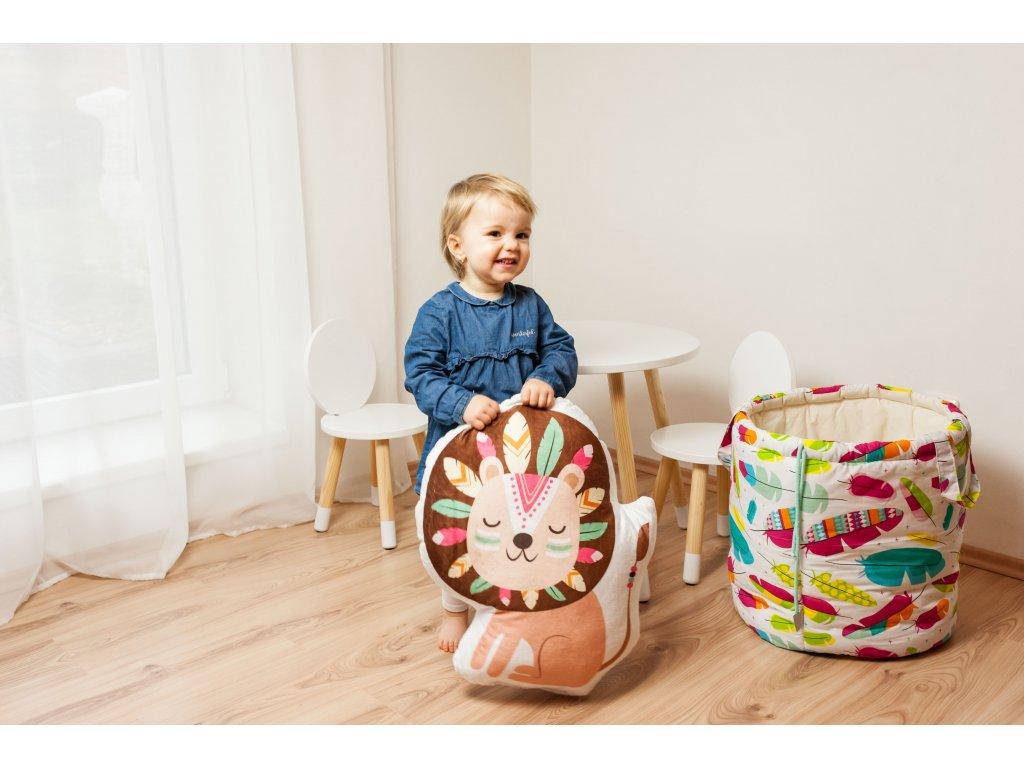 dětský tvarovaný polštářek