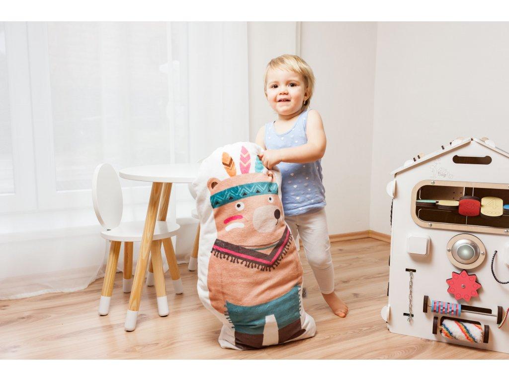 dětský velký tvarovaný polštářek