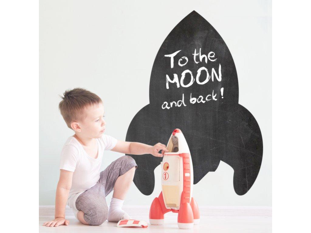 Nástěnná samolepka tabule je víceúčelovou dekorací vhodnou na zeď dětského pokoje. Tvořiví kluci i holčičky mohou popustit uzdu fantazii při zkrášlování stěn.