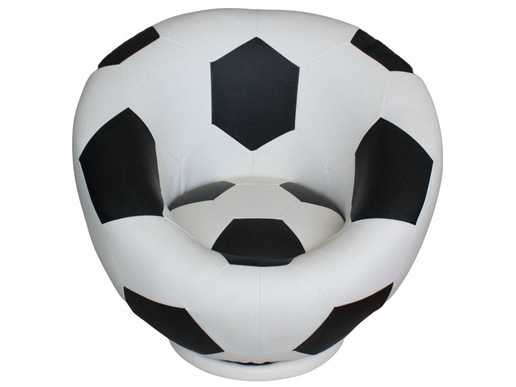 Křesílko fotbalový míč