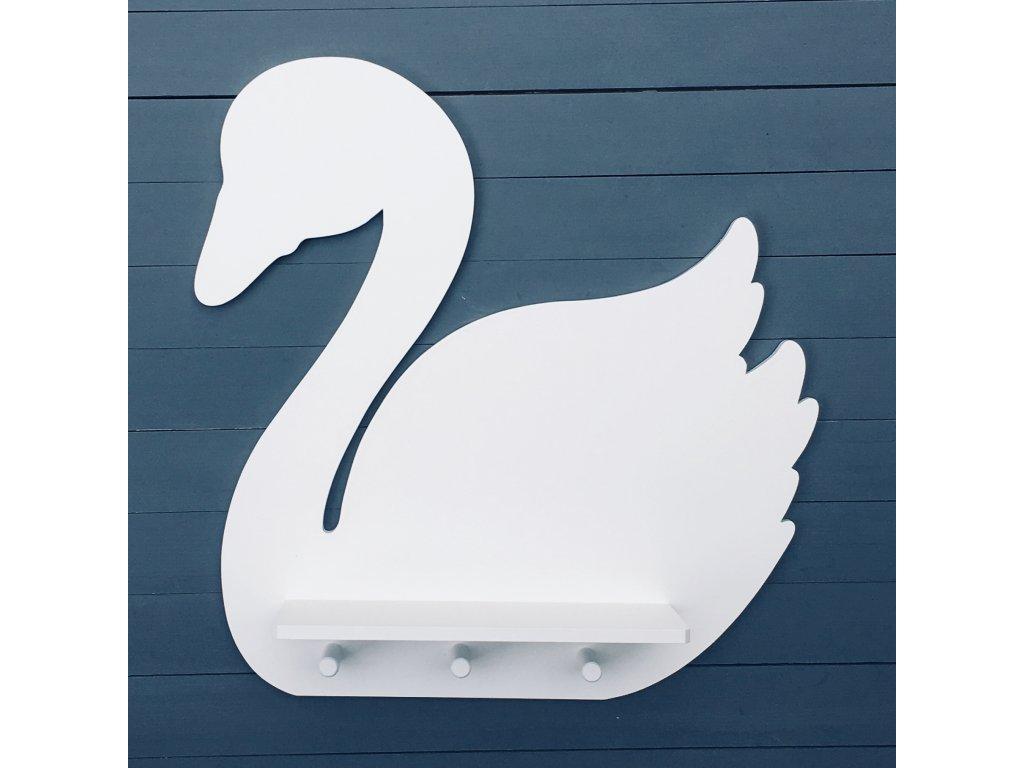 polička labuť