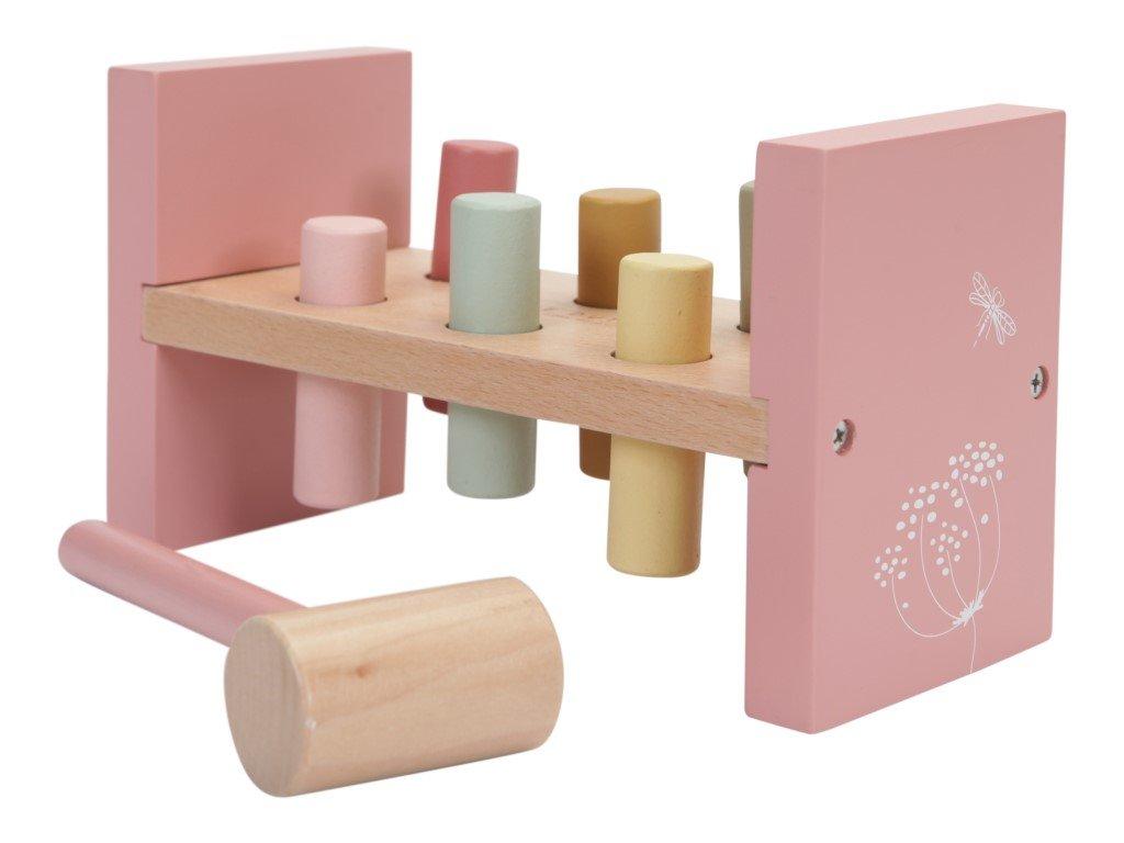 stylová zatloukačka v růžové barvě