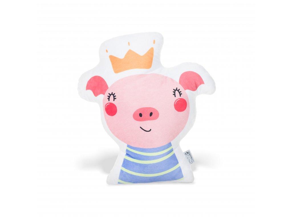 Świnka w koronie