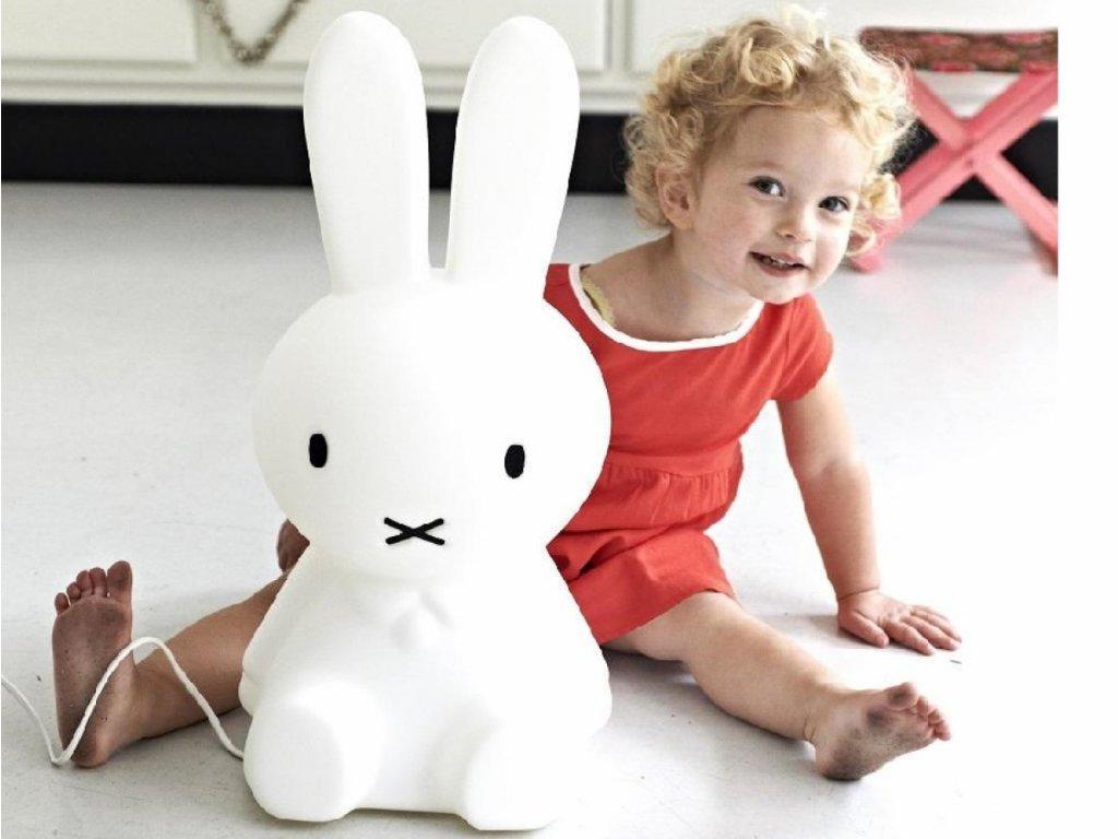 Středně velký králíček miffy originál světlo pro děti