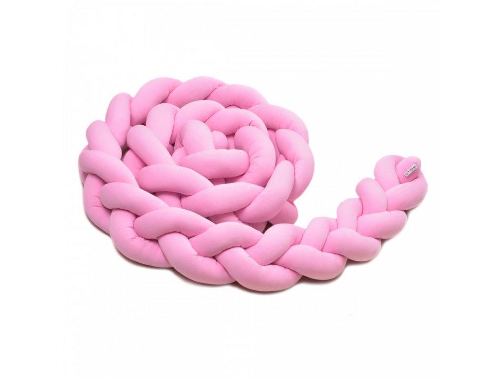 Pleteny mantinel růžový
