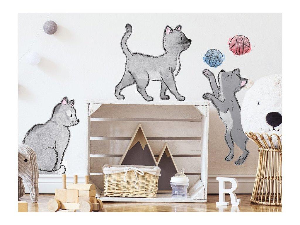nálepky kočky