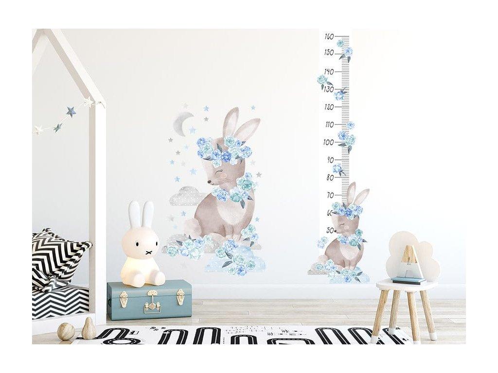Metr s králíkem