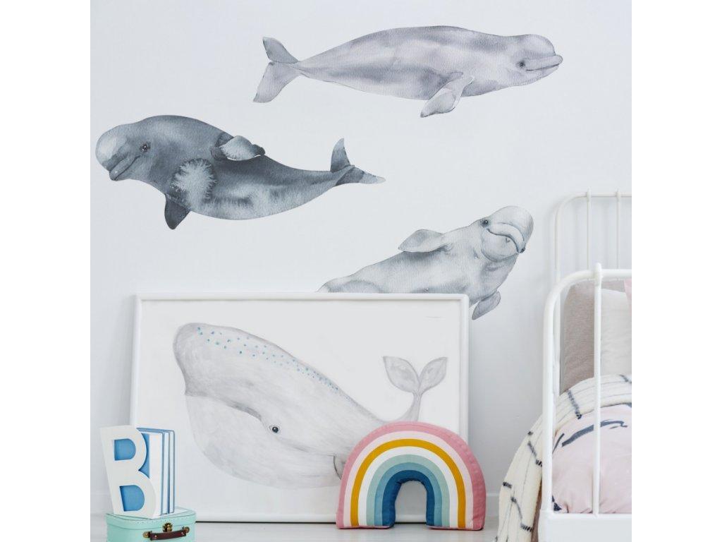 Samolepky delfíni