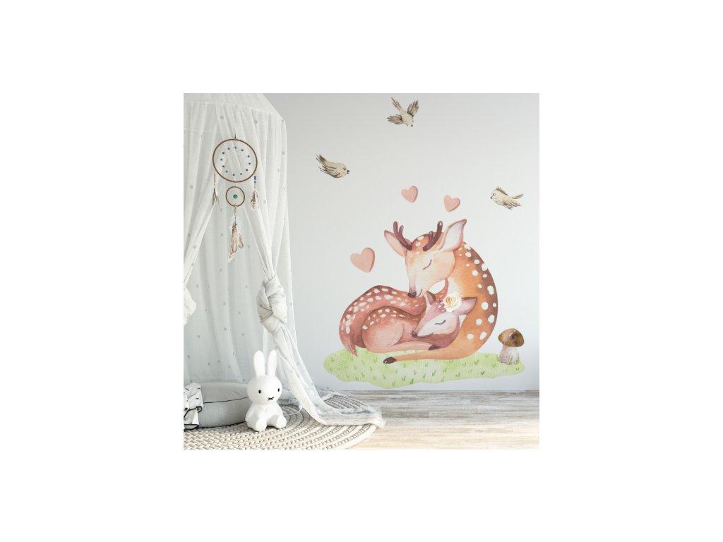 samolepka na stěnu zvířátka