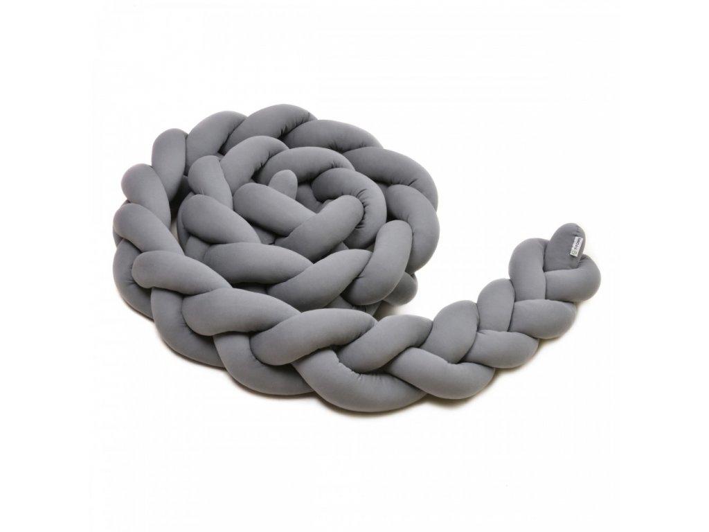 pletený mantinel antracit