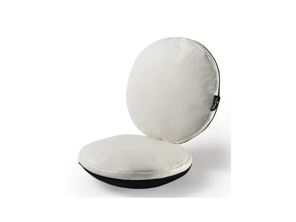 bílý polštářek