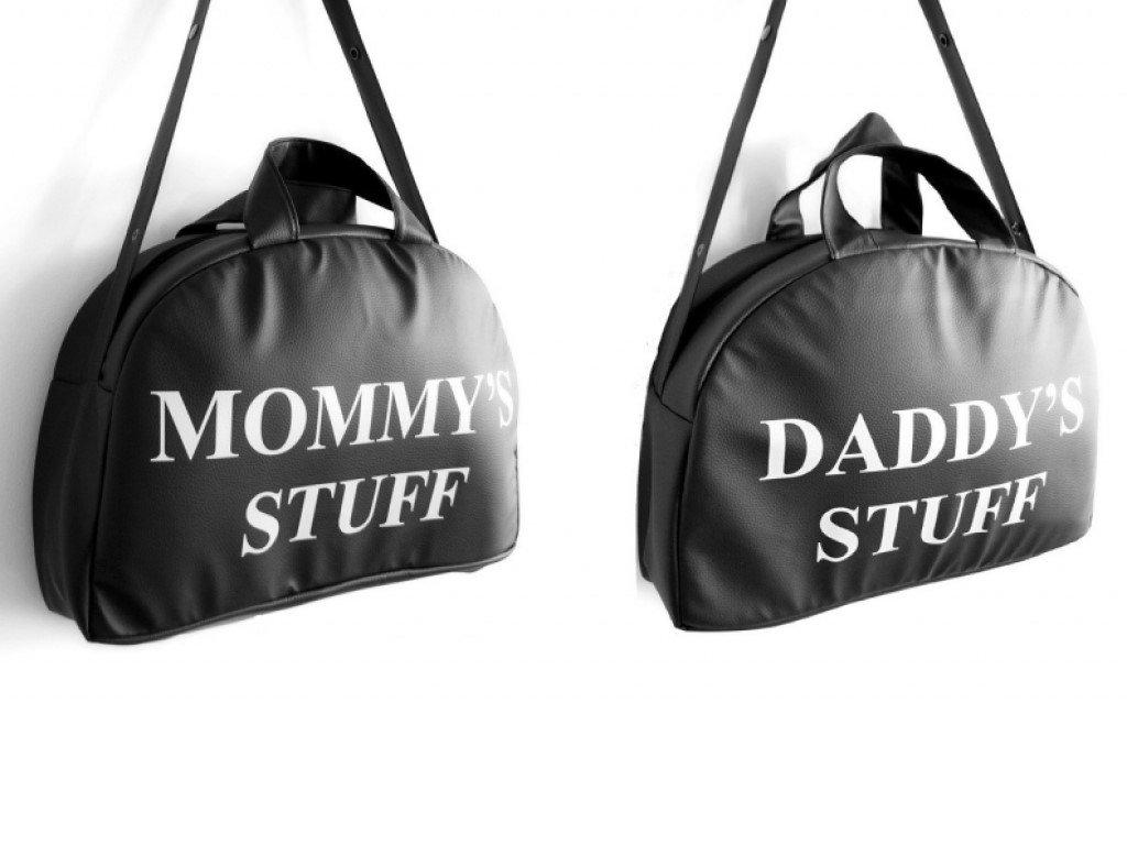 víkendová taška pro mámu a tátu