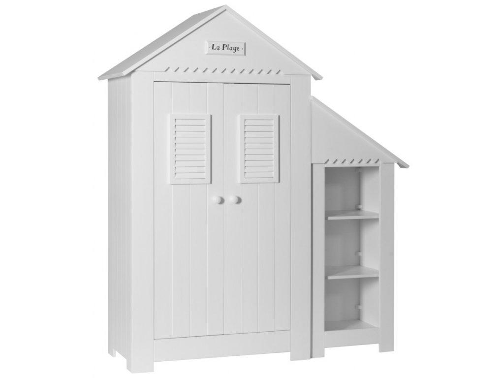dvoukřídlá dětská skříň