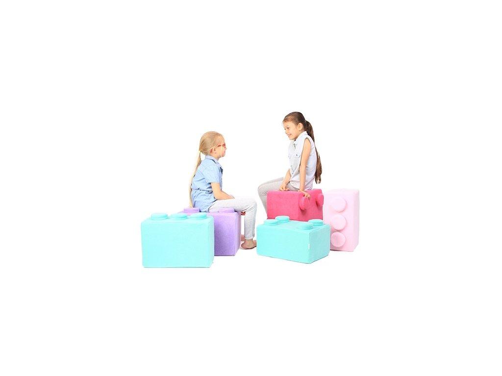 pufy na sezení