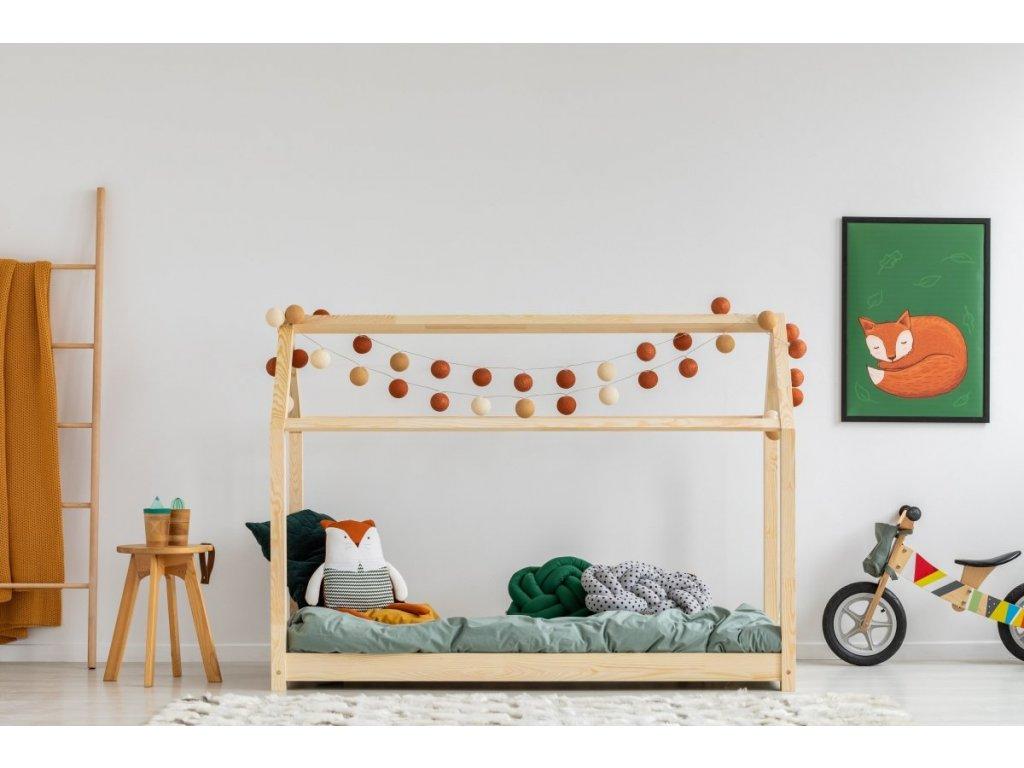 Kvalitní dětská postel z borovice