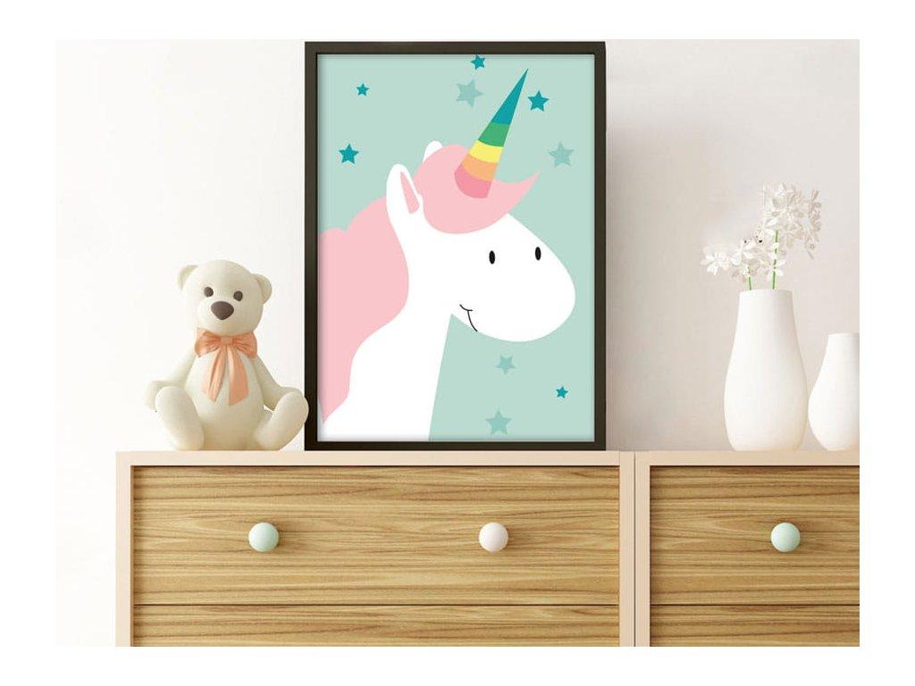 plakát s koníkem