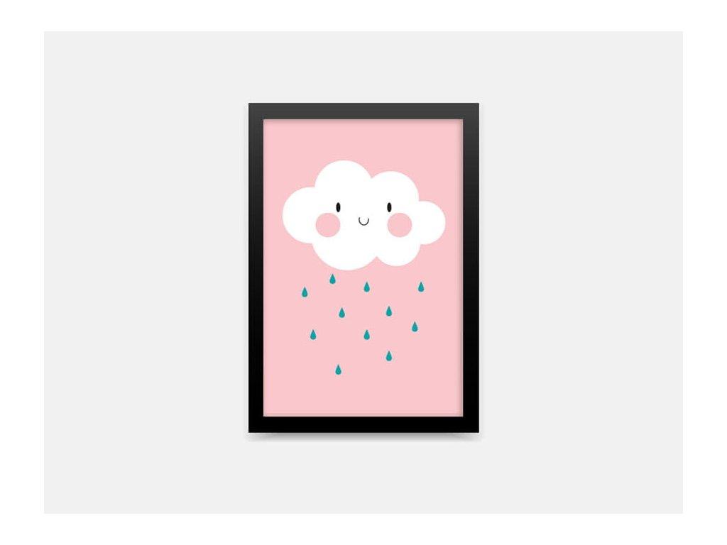 Plakát mrak růžový