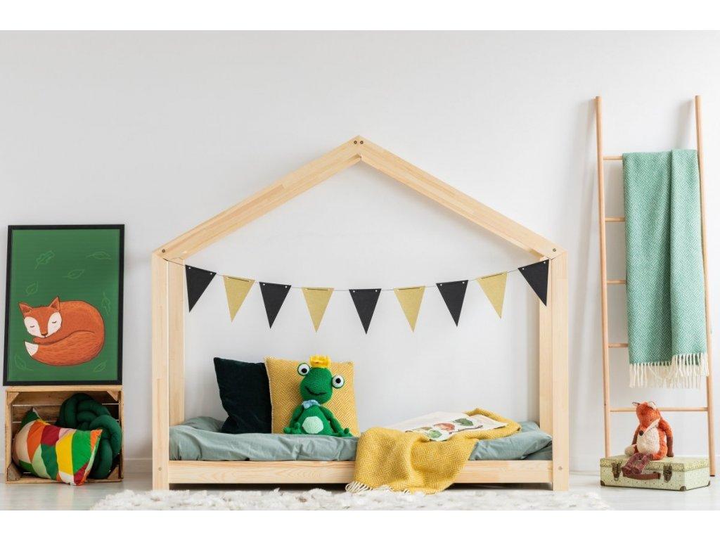 postel domeček dominant ideální volba do dětského pokoje
