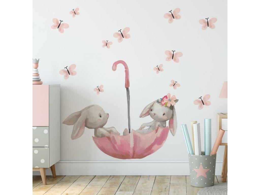 nálepka na zeď do dětského pokoje