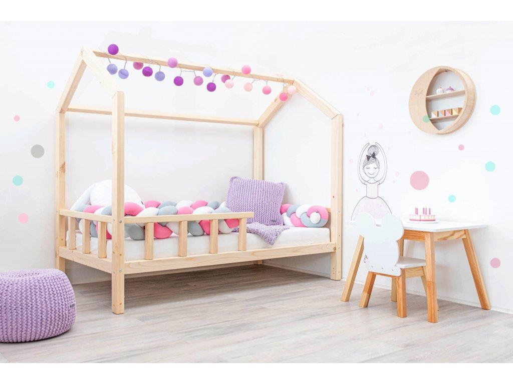 Eco dřevěná rostoucí postel