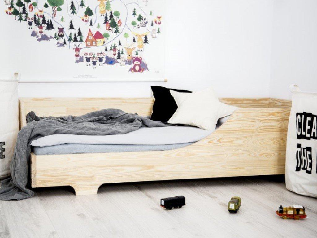 Kvalitní dřevěná dětská postel easy edge