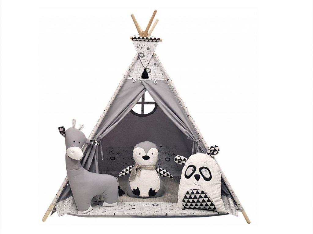 Originální teepee stan do dětského pokoje