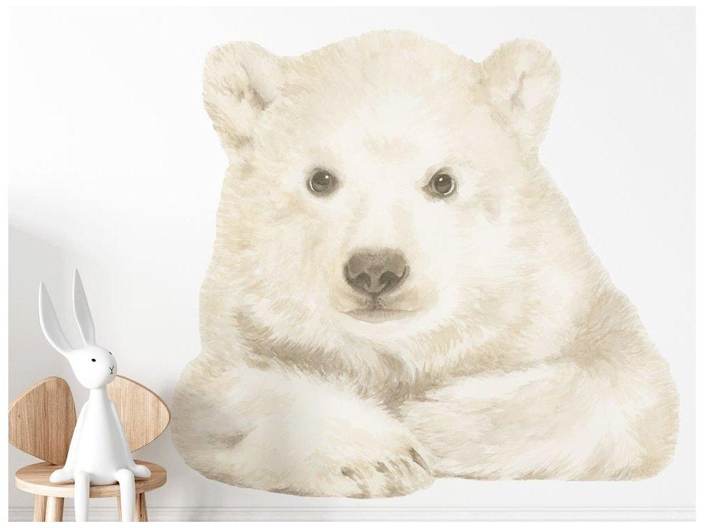 Samolepka na zeď do pokojíčku Medvěd