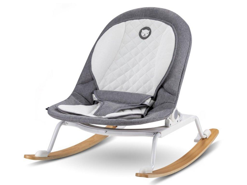 Pohodlné houpací lehátko a sedátko pro miminka