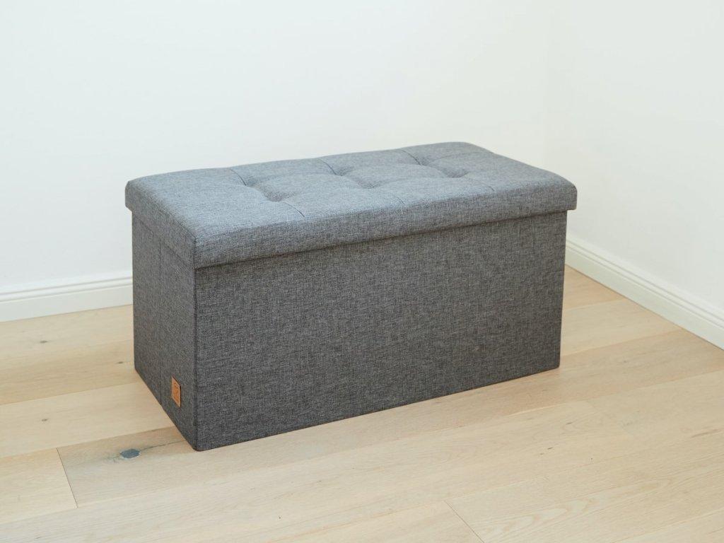Elegantní lavice s úložným prostorem nejen do dětského pokojíčku