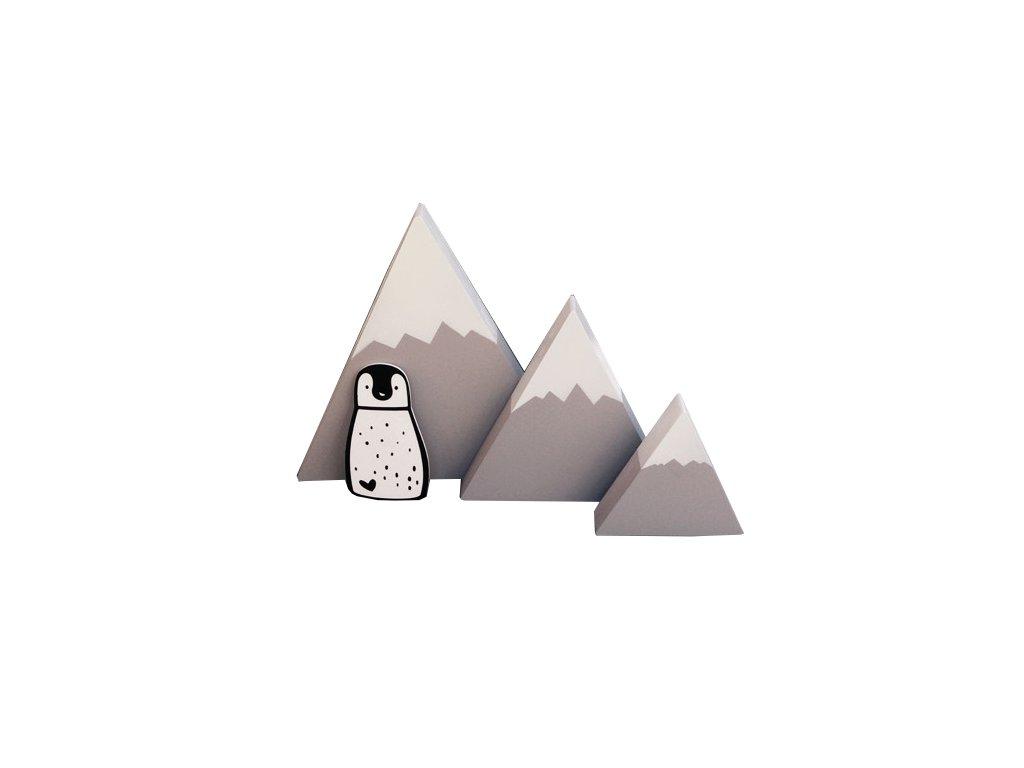 dekorace hory