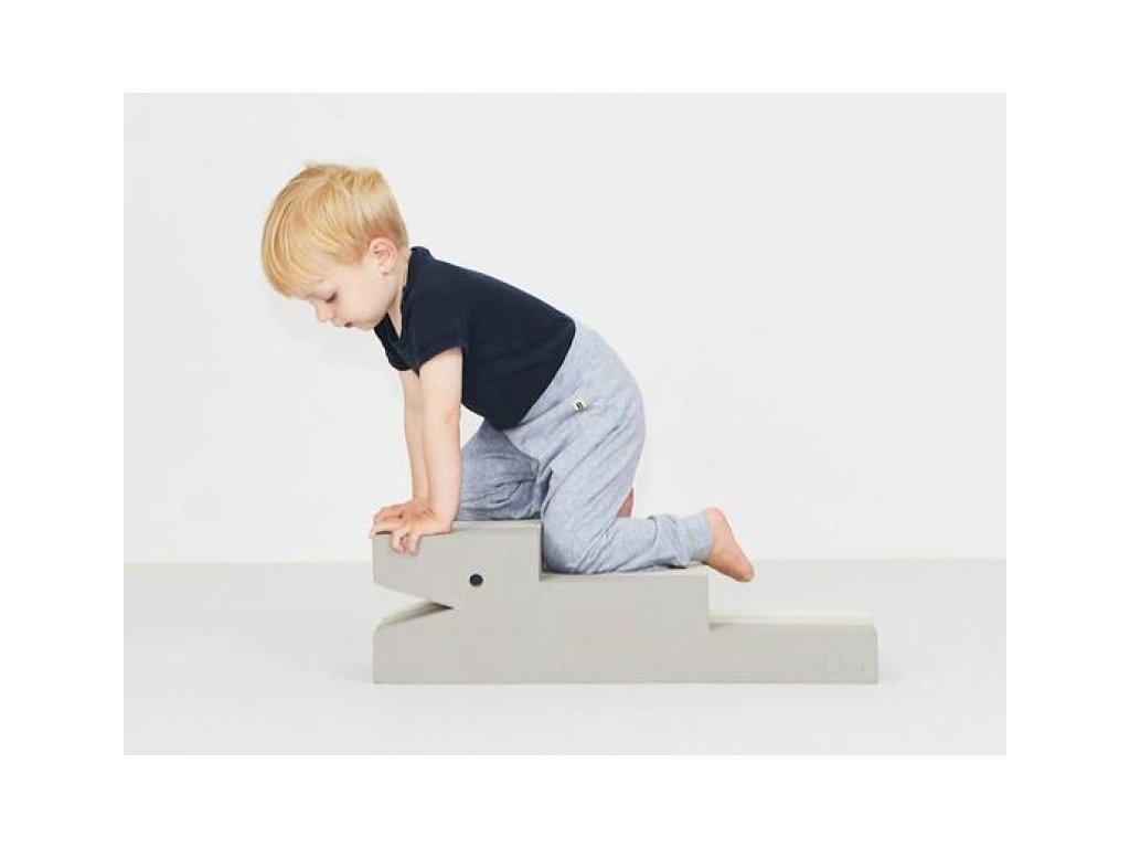 Montessori multifunkční krokodýl pro děti