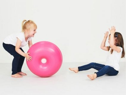 Měkký a zábavný montessori multifunkční donut střední