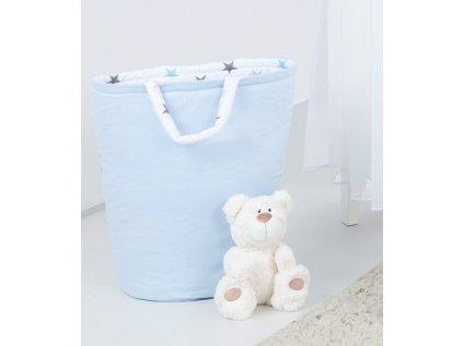91246 147881 box na hracky oboustranny barva modra hvezdicky sede a modre d