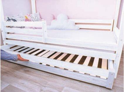 šuplík bílý pro domečkové postele