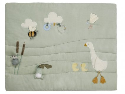Hrací deka nebo podložka s husou pro děti od narození