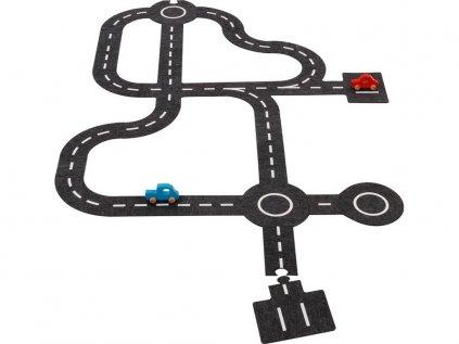 Hračka pro kluky skládací silnice s autíčky