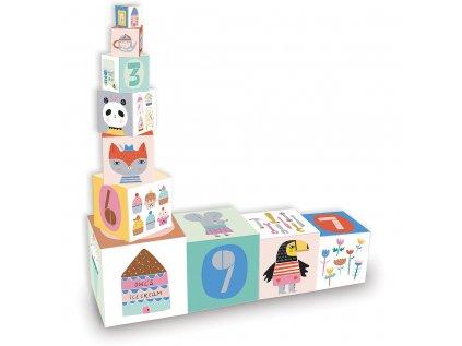 Skládací věž z kostek Suzy Ultman