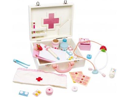 Dětský dřevěný doktorský kufřík Isabel