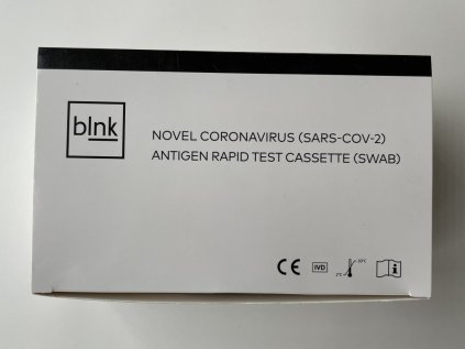 Novel coronavirus antigen rapid test 25 ks