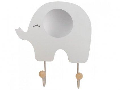 Originální a roztomilý dětský věšák slon